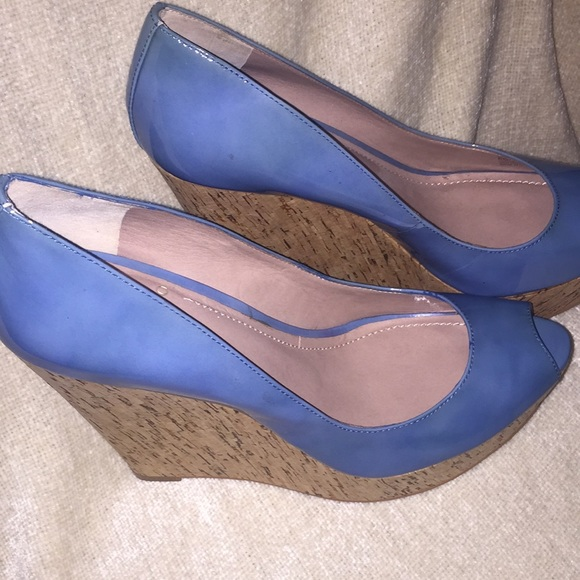 Vince Camuto Shoes   Baby Blue Wedges